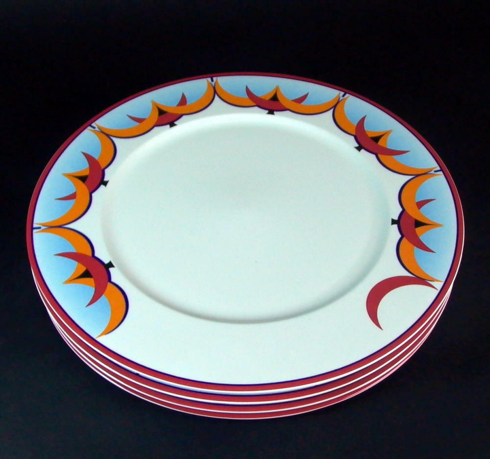 -4 - dining plate square plate - Villeroy & Boch Luxembourg 30 cm