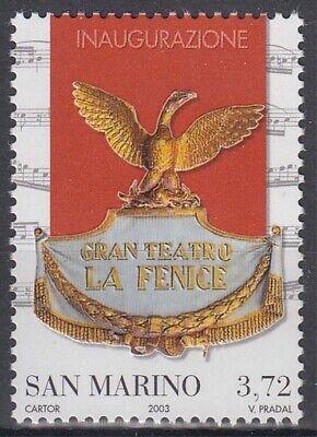 Europa 2119 ** Wiedereröffnung Des Opernhauses La Fenice StäRkung Von Sehnen Und Knochen Genossenschaft San Marino Minr