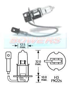 Lucas-llb489-12v-Volt-130-W-H3-Pk22s-halogeno-luz-lampara-bombilla-Off-Road-Uso