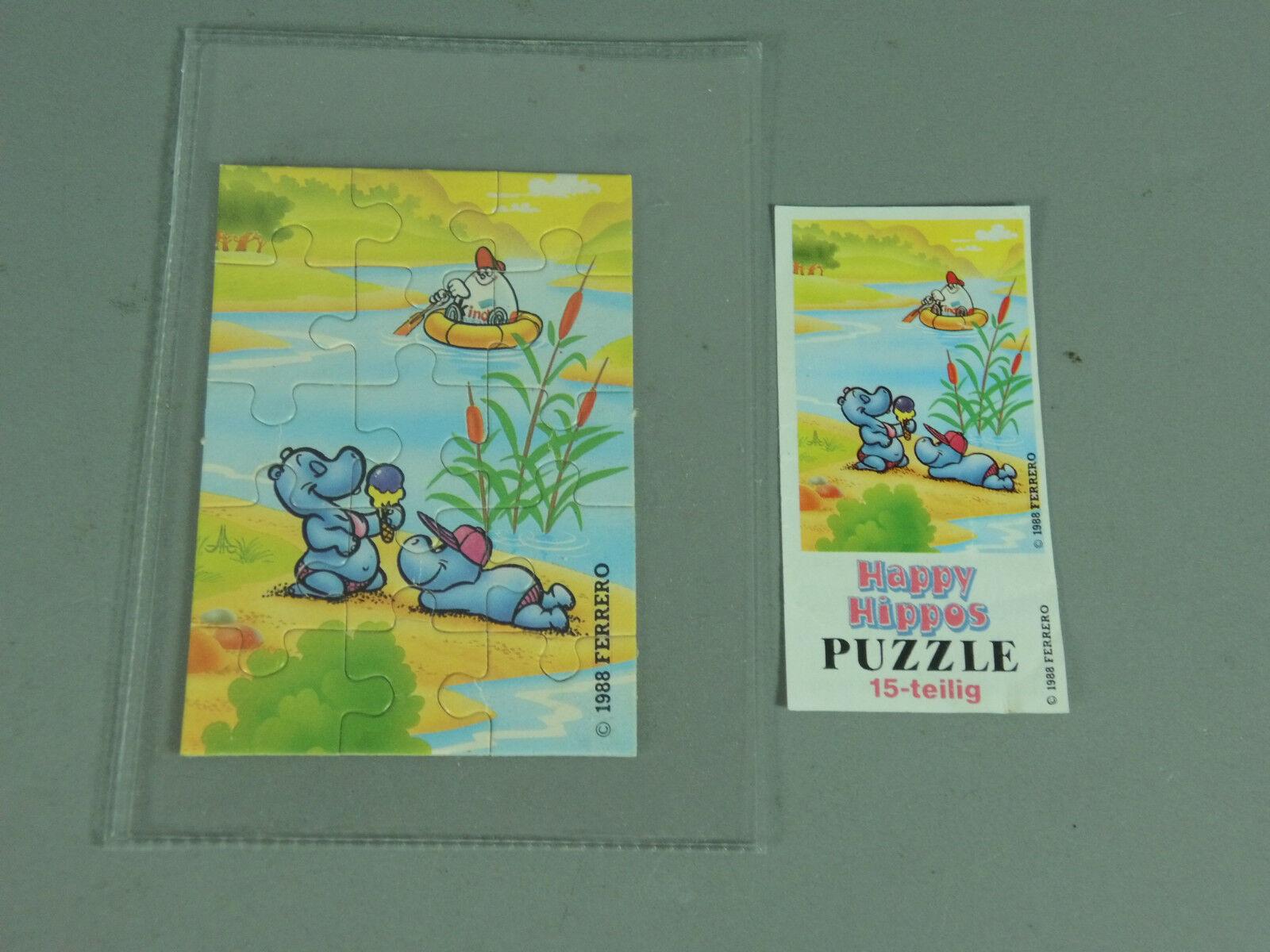 Puzzle  Happy Hippos O. r. BPZ (100% ORIGINAL)