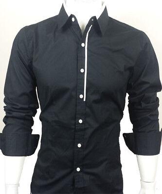 GL Fashions #51 NUOVI progettati Uomo Casual Slim Abito Camicie UK Taglia S-XXL