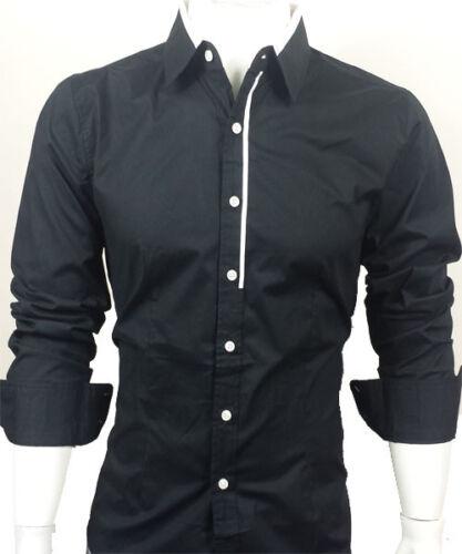 GL FASHIONS #44# New Designed Mens Casual Slim Dress Shirts UK size S//M//L//XL//XXL