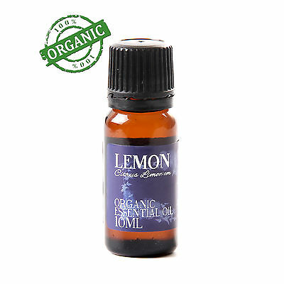Mystic Moments | Lemon Organic 10ml - 100% Pure Essential Oil (CO10LEMON)