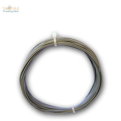 (0,30€/m) 10m Litze grau - einadrig flexibel 0,25mm²