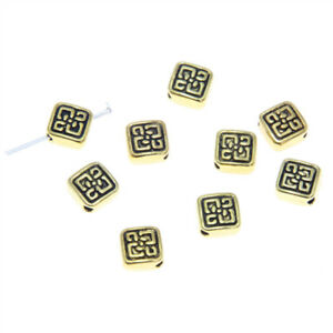 20pcs-lot-Square-Spacer-Beads-Gold-tone-Square-Metal-Spacer-beads-pendant-6-5mm