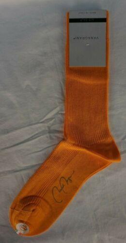 VK Nagrani Men/'s Dress Socks Mid Calf Costa M207 Orange