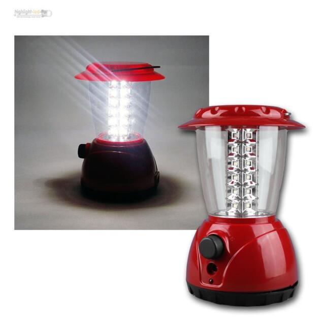 Campinglaterne mit Dimmer Zeltlampe Laterne Lampe Camping LED Akku Campinglampe