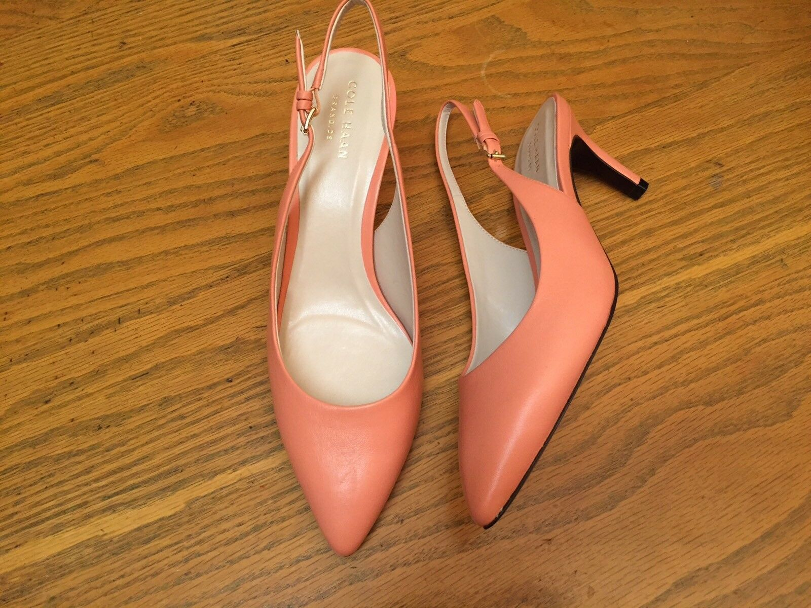 COLE HAAN GRAND NEW OS SLING BACK HEEL SHOES NEW GRAND SIZE 8 890331