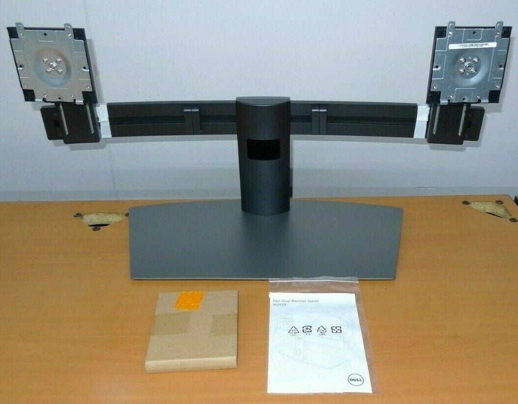 NEW Genuine 0T2HX MDS19 DELL Dual Monitor Stand