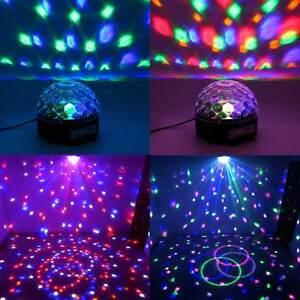 8fbb9e28bc1 La imagen se está cargando Altavoz-proyector-luz-led-bola -disco-magic-bluetooth-
