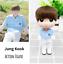 miniature 3 - Kpop BTS RM Jin Suga JHope Jimin V Jungkook lastic Dressing Doll Toy  BANGTAN