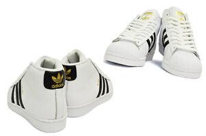 d5be476d418d46 Image is loading ADIDAS-ORIGINALS-Kids-PRO-MODEL-Casual-Shoes-WHITE-
