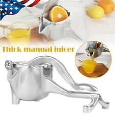 Tarente Manuel en Acier Inoxydable Juicer Hand Press Squeezer Fruit Juicer Extractor M/énage
