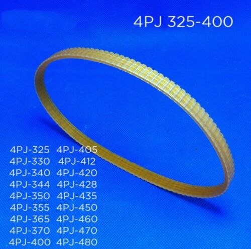 Multi wedge PJ Belt pulley 4 slots 4PJ 325 330 340 344 350 355 365 370 400 saw