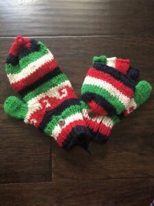 Handmade Fairtrade Wool Cosy Socks Fleece House Slipper Boot Unisex Nepal Sh10