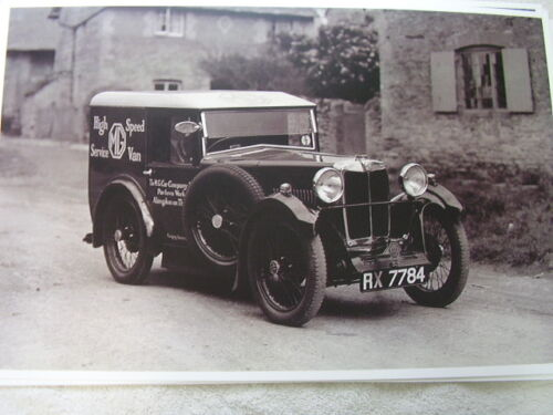 1930-039-S-MG-FACTORY-SERVICE-CAR-11-X-17-PHOTO-PICTURE