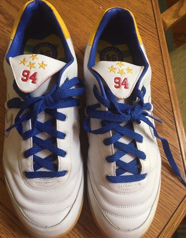 Vintage 2005 nike scarpe brasile cbf calcio stile scarpe nike da ginnastica (uomini '46) c391ce