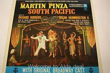 """Mary Martin & Ezio Pinza South Pacific LP (G) 12"""""""