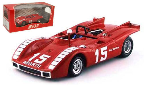 Best abarth 2000 SP   15 nurburgring 1970-K ahrens Jr., échelle 1 43,