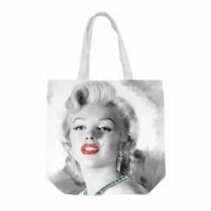 Image Is Loading Marilyn Monroe Red Lips Canvas Tote Bag