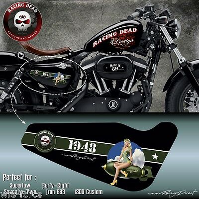 Sportster decal forty eight seventy two iron 883 1200 custom superlow  IMP012