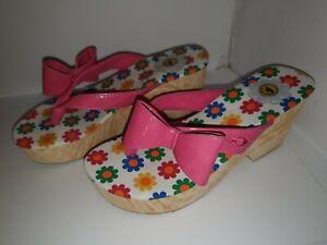 ROCKETDOG-Tommie-Liquid-Patent-Passion-Pink-Sandals-Size-6-39-RRP-30