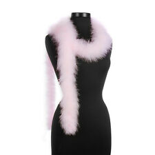 Light Pink  25 Gram Marabou Feather Boas - 6 Feet Long - Halloween Costumes Trim