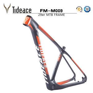 image is loading orange tideace 2017 new design carbon mountain bike - Mtb Frames