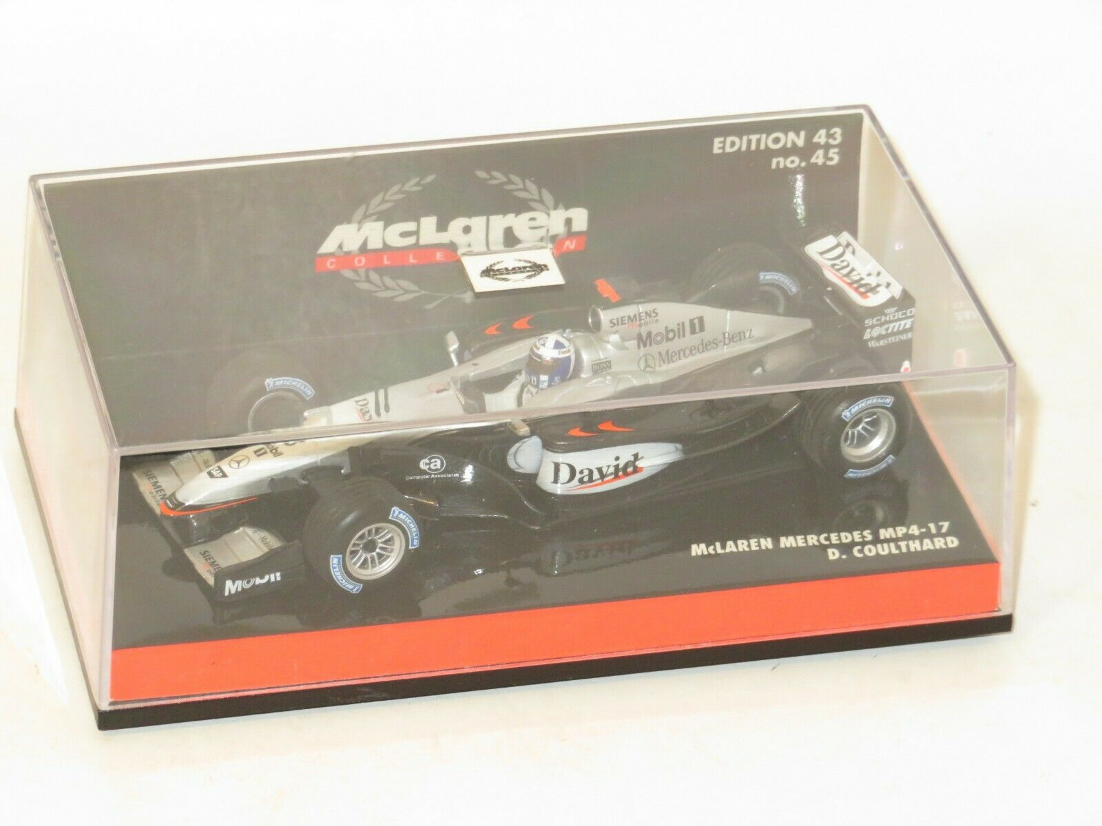 McLaren-Mercedes MP4//17  # 3 David Coulthard 61421 Carrera GO:  Formel 1