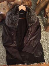 Cortigiani Designer Fell Leder Jacke  Gr.56 Top Qualität/Design