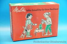Melitta Kaffee Schnellfilter & Kanne für kleine Hausfrauen 801 (G953