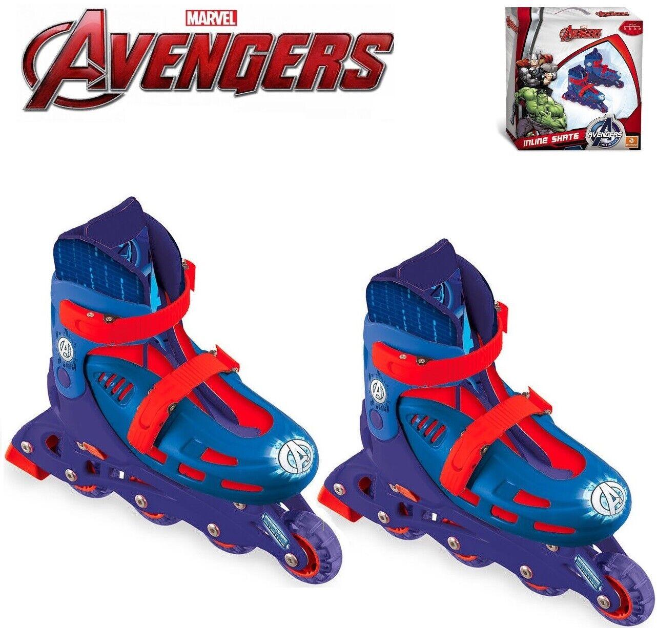 Patins dans Ligne 4 Roues Réglable Diuominiione 33343536 Avengers Avengers