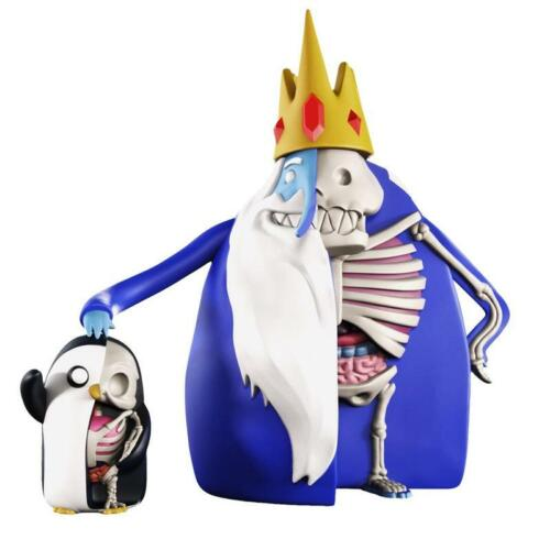 XXRAY ADVENTURE TIME ICE KING GUNTER figure fashion model toys limited edition