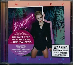 Bangerz - Miley Cyrus delux edition includes limited