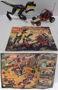 Game-Gioco-LEGO-Dinosauri-Completo-7295-Play-Set-2005-Dino-Buggy-Chaser