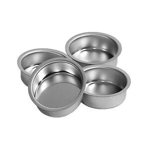 Tealight Holder Silver 40mm Deep Tealight Cup For