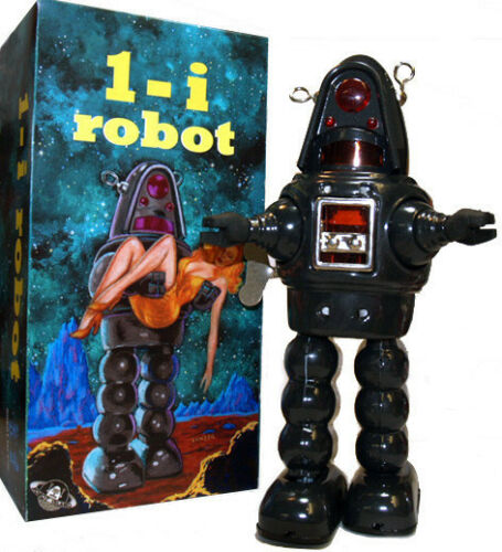 Twilight Zone Robby the Robot Tin Toy Windup Special Edition!