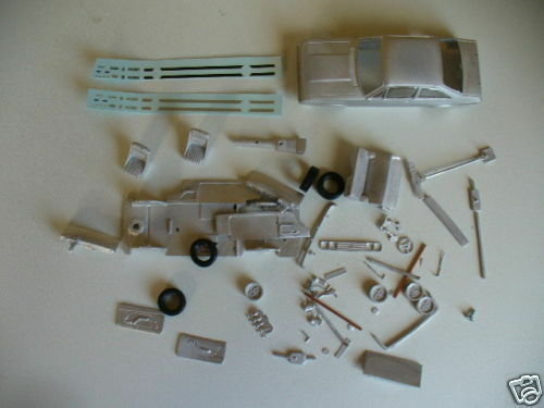 Ford Escort Mk2 RS2000  1 43rd scale white metal kit  by K & R Replicas