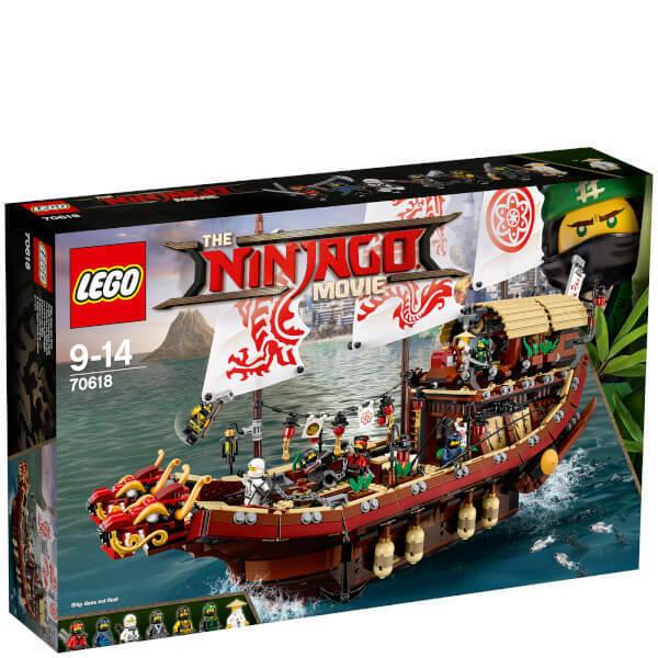LEGO Ninjago Movie (70618) Destinys Bounty (Brand New & Factory Sealed)