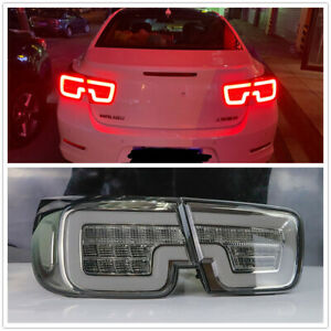Details About For Chevrolet Malibu Led Rear Lamp Embly Tail Lights 2017 Black Ama