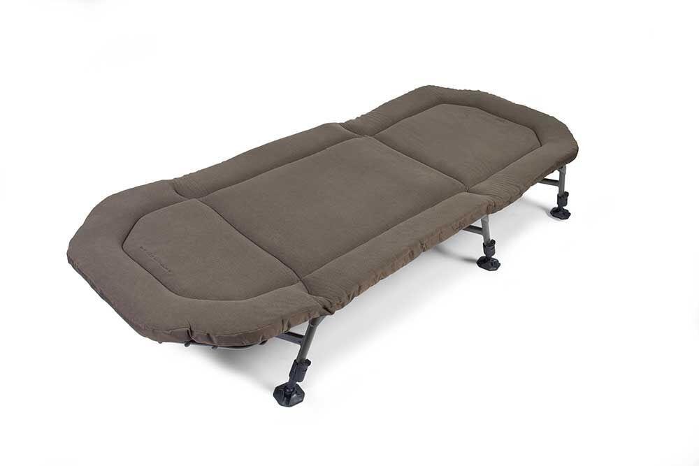 Avid Carp Benchmark Memory Foam Bed 2018 NEW Carp Fishing Bedchair