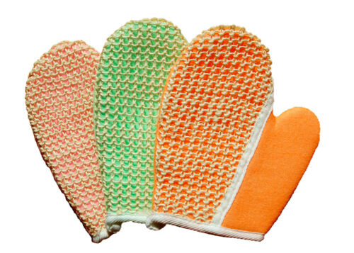 Sisal and Terry Bath /& Grooming Mitt Glove for Horse or Dog by Equine Organix