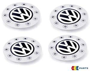 NEW-Genuine-VW-Golf-1998-2006-Roue-Alliage-Center-Cap-Hub-Set-4PCS-1-J-0601149-AGRB