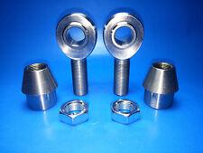 Panhard Bar Rod End kit 3/4 x 3/4 Bore Chromoly Heim Joints (Bung 1-1/2 x.120)