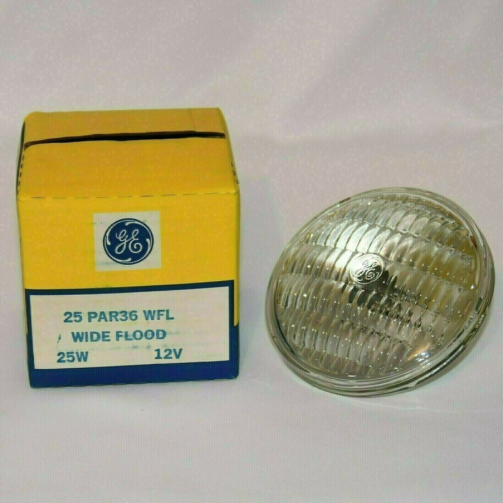 NEW GE 25PAR36//WFL 25 watt 12 Volt 25w 12v