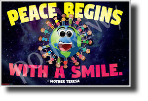 Peace-Begins-with-a-Smile-NEW-Motivational-Poster