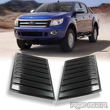 Matte Black Small Bonnet Scoop Hood Ford Ranger PX T6 11-14 XLT XLS Wildtrak
