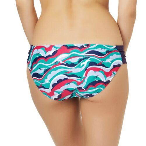 Panache CW0016 Cleo Swimwear Tilly Bikini Gather Pant Bird Print