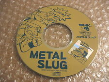 METAL SLUG 1 NEO GEO CD JAP IMPORT ONLY CD!