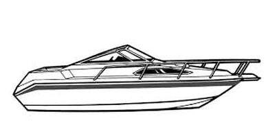 BOAT COVER FOR Sea Ray SRV 190 I//O 1976